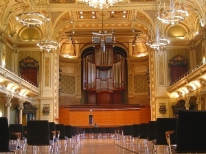 Roomacoustical measurements in the cityhall of Wuppertal