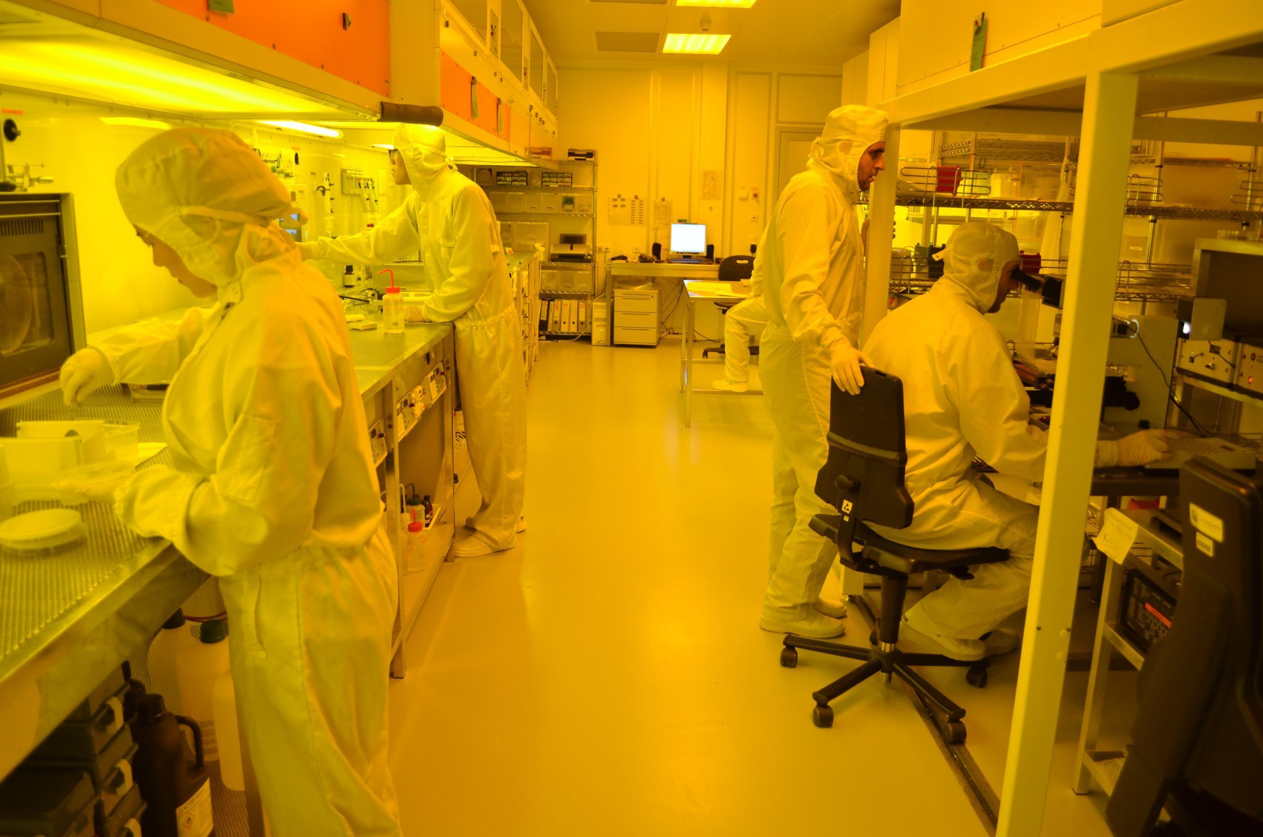 Cleanroom activities